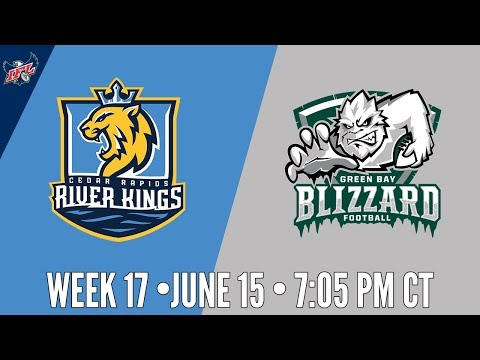 IFL Week 17 | Cedar Rapids River Kings at Green Bay Blizzard