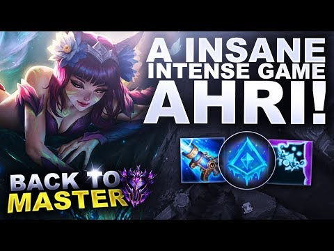 AN INSANE GAME ON AHRI! - Back to Master | League of Legends