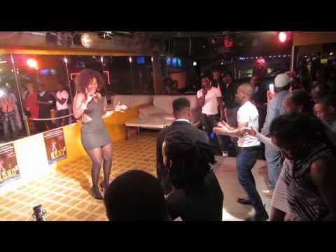 Desire Luzinda surprises the Surprise Club in Berlin