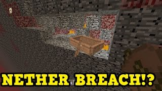 Minecraft Xbox 360 / PS3 - HOLE OUT OF THE NETHER!?