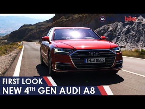 New Audi A8 Unveiled; India Launch In 2018 | NDTV CarAndBike
