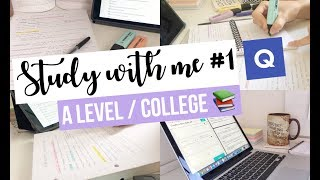 STUDY WITH ME- A LEVEL EDITION! f.t Quizlet