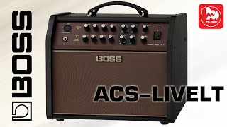Комбик BOSS ACS LIVE-LT (Acoustic Singer, 60 ватт для акустической гитары и вокала)