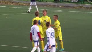ДЮФК Поділля U-14 vs BRW-ВІК (Володимир -Волинський) U-14 - 0:4 (27/10/2018) 1-й тайм