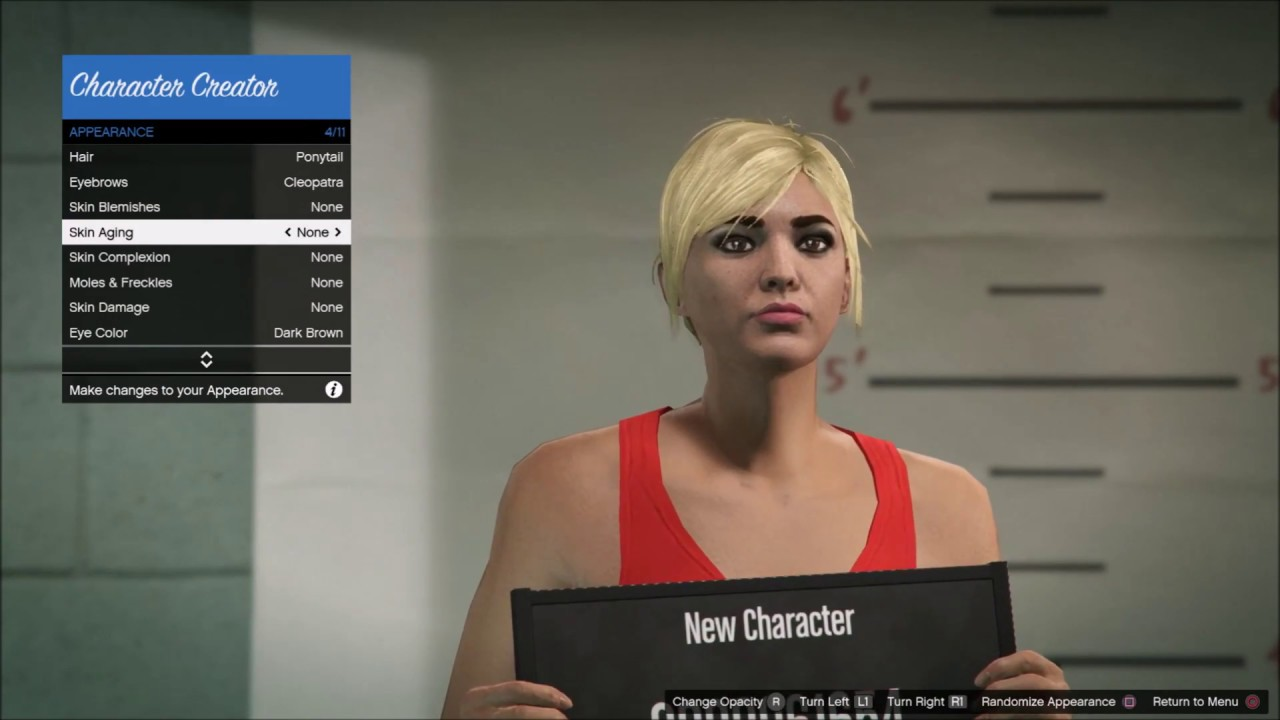 Online eye color changer - Gta 5 Online How To Make A Very Hot Girl Blonde Character Dzaga By Marko9109
