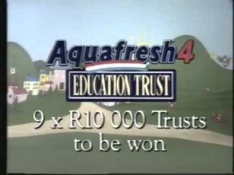 Aquafresh Education Trust TVC - South Africa (1991)