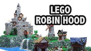 Huge LEGO Robin Hood Castle Village | Brickworld Chicago 2017