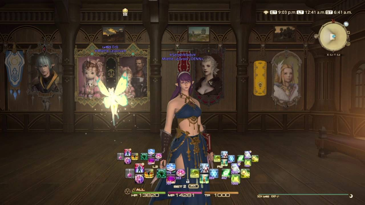 Final Fantasy XIV W Cross HotBar (WXHB) Tutorial