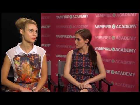 Zoey Deutch & Lucy Fry Talk Biting Brad Pitt, Girl Power and Vampire Academy