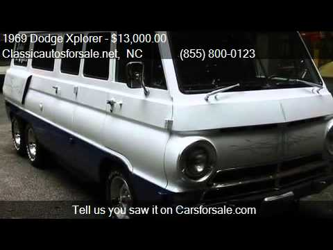 1969 Dodge Xplorer 21 for sale in Nationwide, NC 27603 at Cl #VNclassics - YouTube