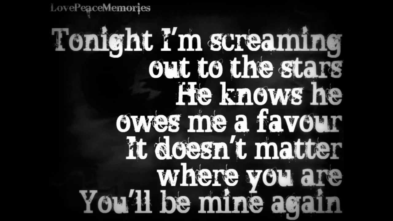 Framing Hanley - Alone In This Bed Lyrics - YouTube