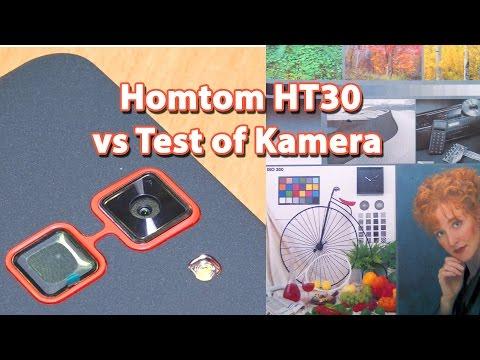 Homtom HT30 - Крупным планом, + образец видео и фото-съёмки.