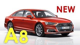 NEW Audi A8 2017 🅰 #автопилот и массаж ступней  обзор / preview Александра Михельсона...
