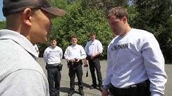 Police academy: Pepper spray