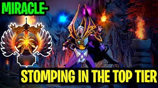Stomping In The Top Tier - Miracle- Invoker - Dota 2
