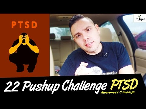 MY 22 PUSHUP CHALLENGE To Raise Awareness of Veteran Suicide & PTSD