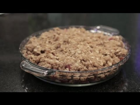 How to Make Crumble Topping for Rhubarb Crumble : Dessert Recipes