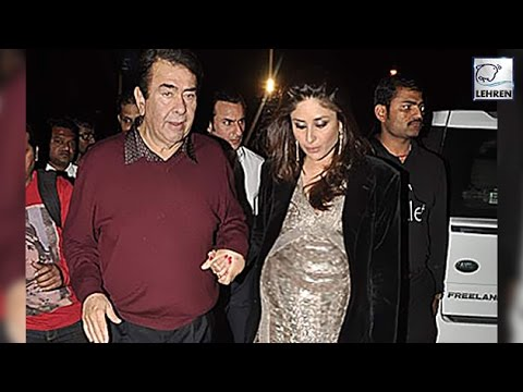 Randhir Kapoor REACTS On Kareena Kapoor Pregnancy! | LehrenTV