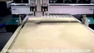 2 Process Wooden Door Cnc Router Wood Furniture Making & Engraving Machine Dsc 0608