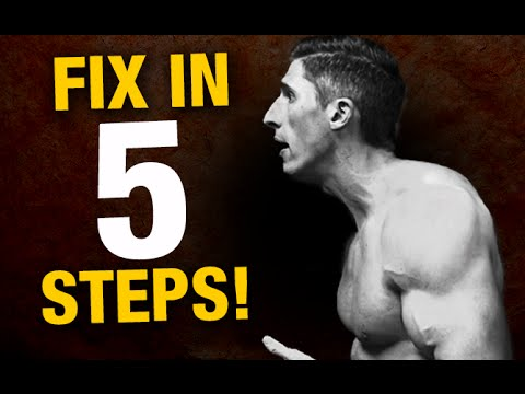 Perfect Posture in 5 Steps (BAD POSTURE BUSTER!)