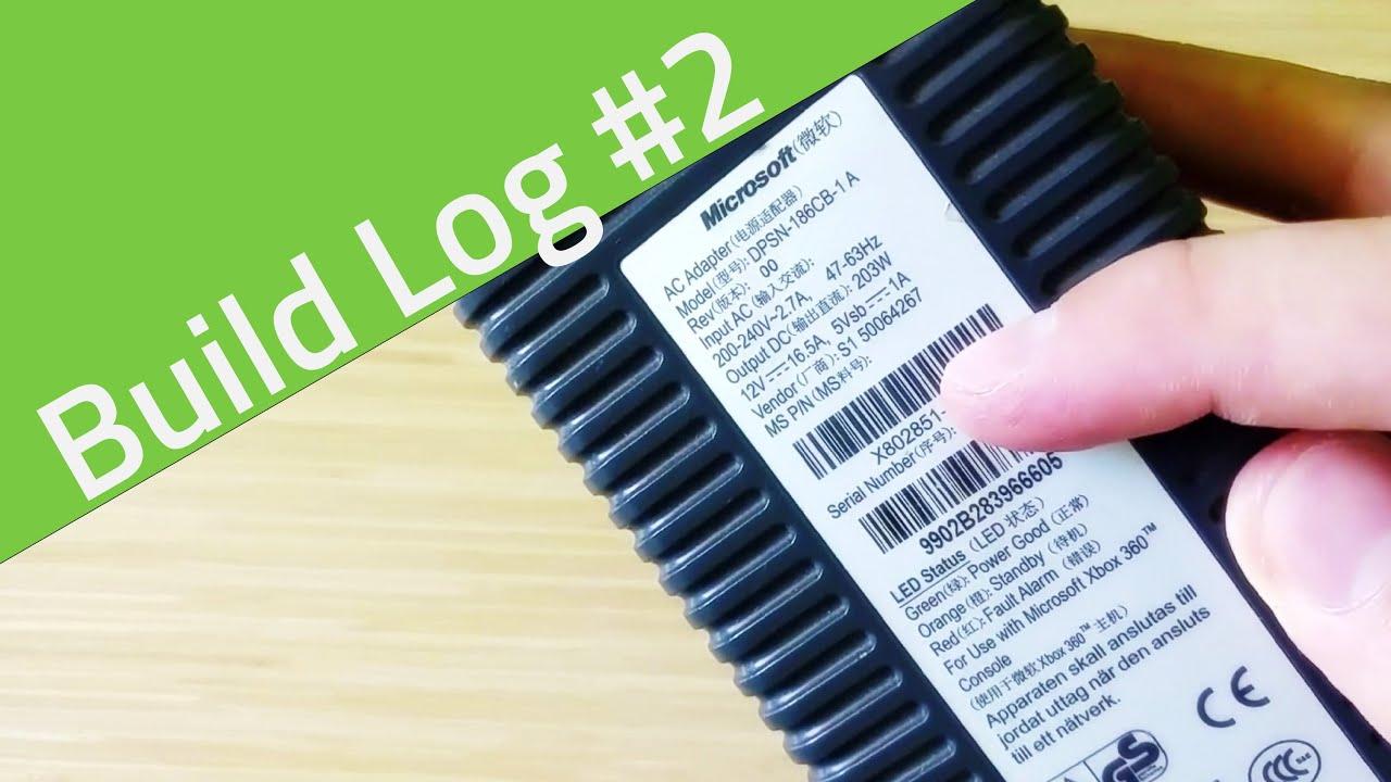 Modyfikacja zasilacza od Xbox360 - Build Log drukarki 3D #2 - Видео on