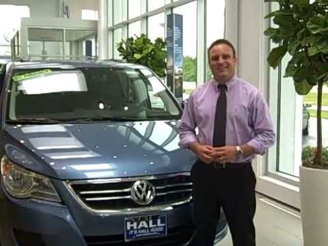 The 2011 VW Routan at Hall Volkswagen