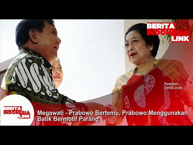 Ketua Umum dua Partai besar, Megawati dan Prabowo Subianto Reunian. Apa yg dibicarakan?