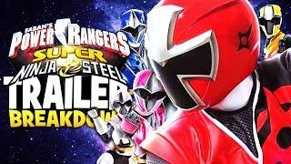Power Rangers Super Ninja Steel Trailer Breakdown + All Returning Rangers Explained