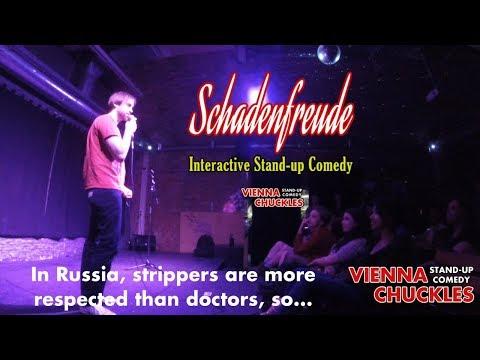 """Schadenfreude"" Interactive Stand-up Comedy"