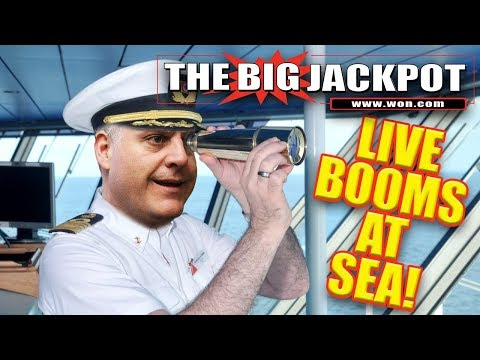 🔴 First Ever Live Slots at Sea 🛳