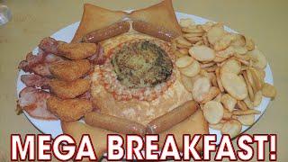 Mega English Breakfast Challenge at Woodbridge Cafe - Food Challenge