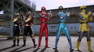 "Power Rangers Super Megaforce: ""Super Megaforce"" Morph Sequences"