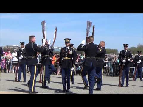 JSDTC | 2014 | United States Army | Old Guard Drill Team | Armed Exhibition