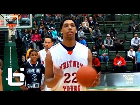 Jahlil Okafor propels Whitney Young HS to dramatic victory in Chicago Title game vs Morgan Park!
