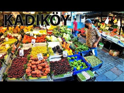 Istanbul Kadıköy Walking Tour in 4K- Istanbul after Corona