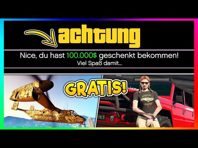 😍💰 ROCKSTAR SCHENKT DIR 100.000$ + NEUE SOMMER DLC NEWS! | 4 GESCHENKE IN GTA ONLINE! 😍💰