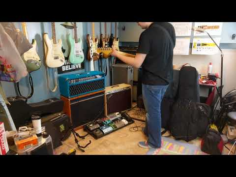 Unsuspecting John Mayer Fan Plays My Steel String Singer And Fender Dual Professional