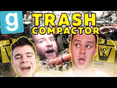POWRÓT ŚMIECIARZY!   Garry's mod (With: EKIPA) #464 - Trash Compactor [#6] #Bladii #Po Polsku #PL