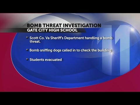 Gate City High School evacuated due to bomb threat