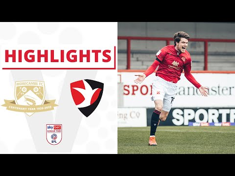 Morecambe Cheltenham Goals And Highlights