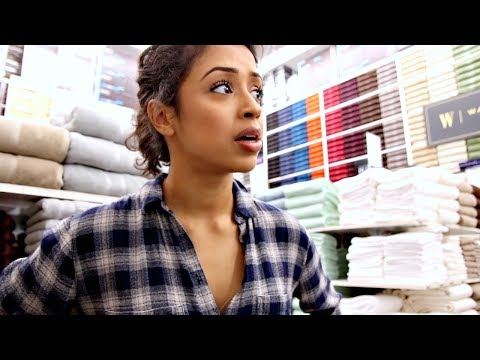 Thumbnail: I WAS CAUGHT IN BED... BATH AND BEYOND WITH LIZA!