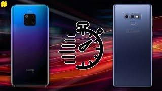 Huawei Mate 20 Pro vs Samsung Galaxy Note 9 Speed Test!