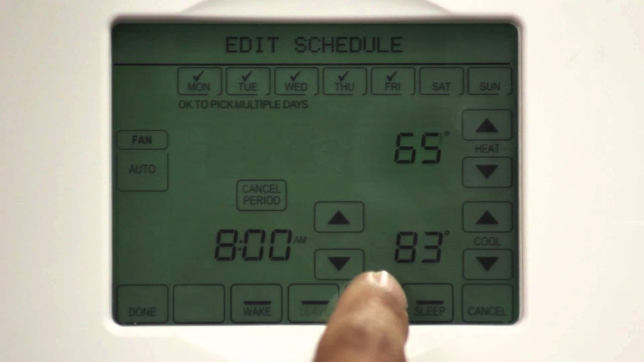 Programming your smart thermostat youtube programming your smart thermostat asfbconference2016 Image collections