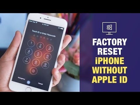 New Ways] How to Factory Reset iPhone without Apple ID