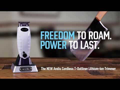 Andis Cordless T-Outliner Li - FREEDOM to Roam. POWER to Last (Part 1)
