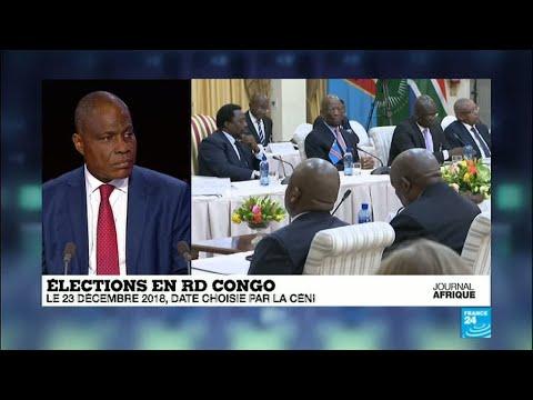 RD Congo : la présidentielle fixée au 23 décembre 2018, l'opposition s'indigne