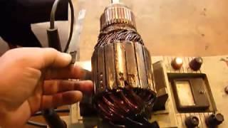 видео ремонт обмоток электродвигателей