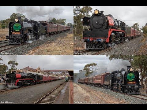 Steam Hauled Saturday Around Bendigo- 11/5/19