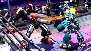 REAL STEEL WRB Blockbuster VS Aquabot & Bio War & Bluebot & Danger Zone