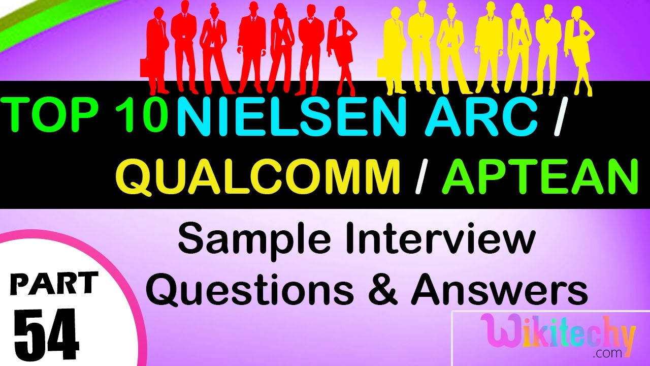 nielsen arc analyst qualcomm aptean top most interview nielsen arc analyst qualcomm aptean top most interview questions and answers for freshers